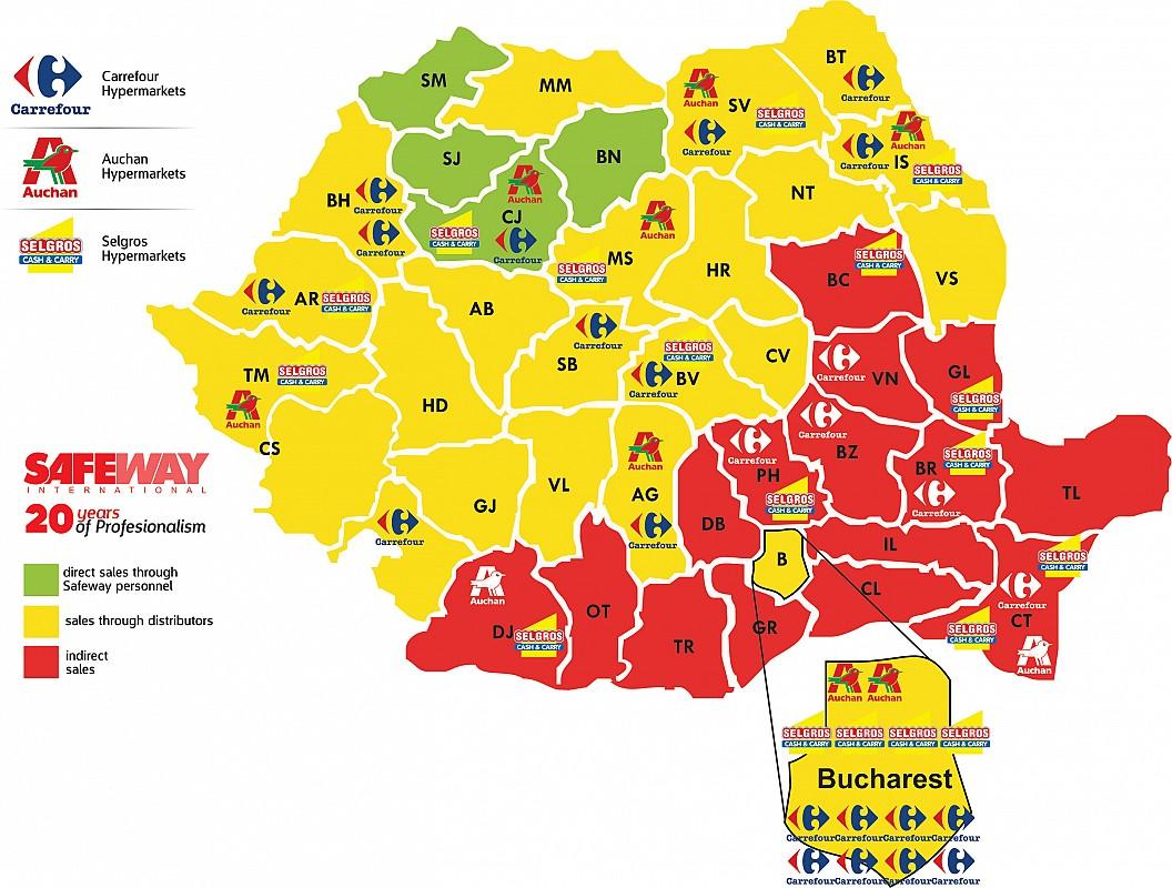 Distribution Safeway International